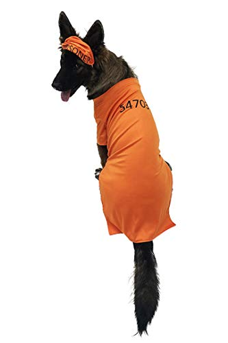 Midlee Orange Prisoner Costume (XX-Large)]()