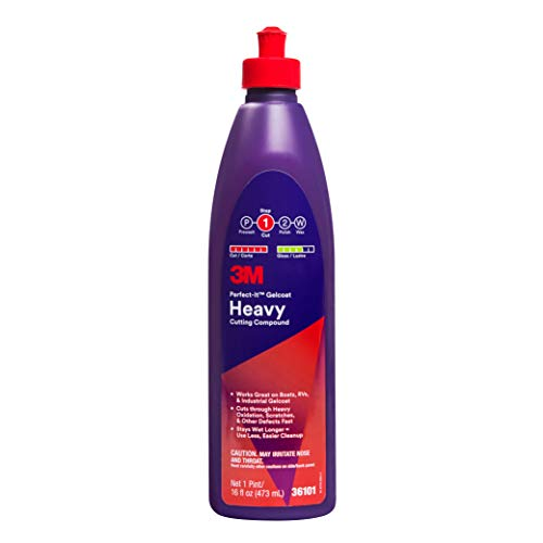 3M Perfect-It Gelcoat Heavy Cutting Compound (36101) - For Boats and RVs - 1 - System Finishing