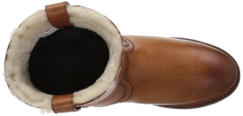 de Cognac botas FRYE Shearling corto Celia Mujer 76668 invierno FWwBvq1TxB