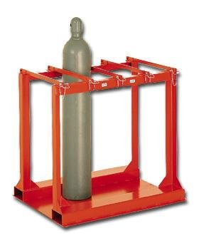 Meco Cylinder Pallet Rack - 6-Cylinder Capacity by MECO