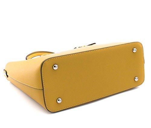 Shoulder Flora amp;co Mustard Yellow Women Bag girls qUtpA7rU