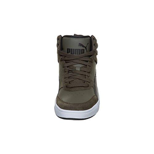 Sneaker Puma Unisex Adulto Rimbalzo Street V2 Nero, 40 Eu Verde (oliva Notte-nero)