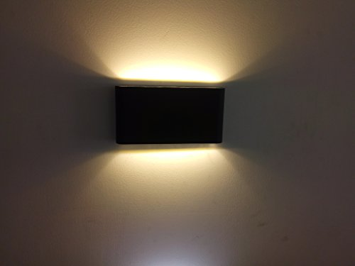 LED Wall Light Super Bright 12W COB LED Wall Lamp IP65 Waterproof Wall Sconce - Up Down Outdoor Wall lighting Fixture - - Amazon.com