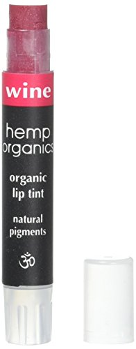 Colorganics Hemp Organics Wine Lip Tint 2.5 Gram ()