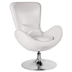 Flash Furniture Egg Series Side Reception Chair