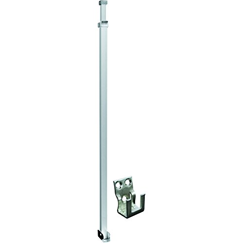Defender Security U 9920 Security Bar For Sliding Patio Doors, Adjustable, Aluminum Construction With Aluminum Finish, Pack of 1 (Security Bars For Patio Doors)