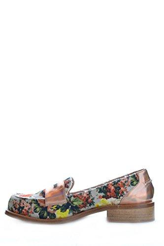 Msgm Mujer MCBI217018O Multicolor Cuero Mocasín