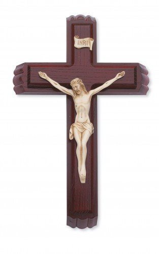 McVan Inc. 12'' Cherry/Resin Sick Call Set - Décor Gift Religious 79-42602-MCVAN