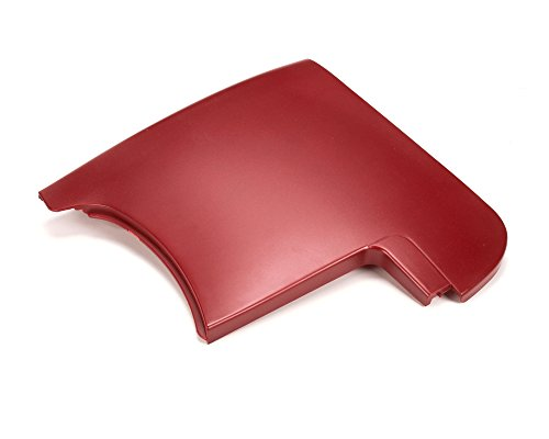 Rancilio 38123754A Side Panel, Six Red Metalize