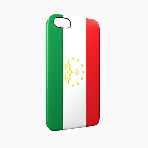 Flag of Tajikistan Glossy Hard Snap-On Protective iPhone 5 / 5S / SE Case Cover