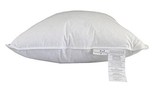 Phoenix Down 75 WGF 25 WGD Std 20 X 26 Inch Bed - Down Std Bed Pillow White