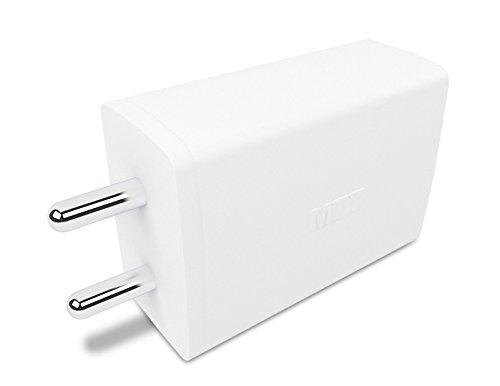 MTT Dual Port 2.1 Ampere Premium USB Charger  White