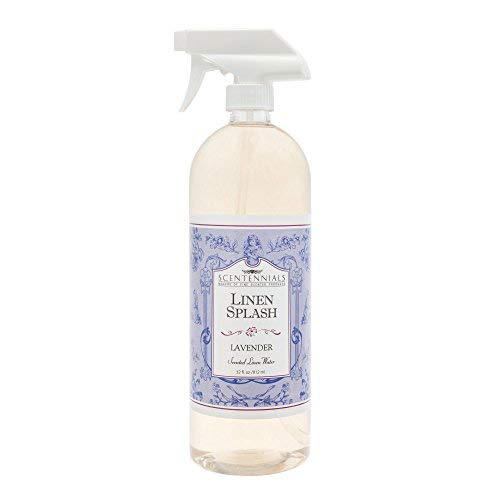 Scentennials Linen Splash LAVENDER 32oz - A MUST HAVE for all your linens, laundry basket or just spray around the house. (Linen Provence Bed)