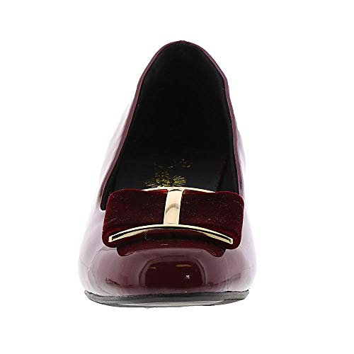 Scarpe Tacco us Beacon Eu Col bordeaux 42 Donna Frauen xzqCAw