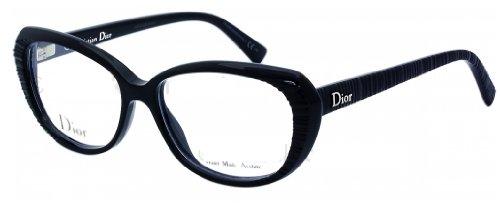 Christian Dior Eyeglasses 3248 807 Black - Christian Eyeglasses Dior Cd Frame