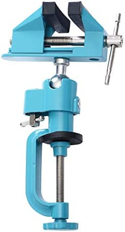 [해외]Bench Vise Swivel 3 Tabletop Clamp Tilts Rotate 360° Universal Work Jewelry & Watches Repair Tools Home Hardware Tool Clamps & Vises Tong Clamp Fork Over Grip Pinch Nip Jewellery Equipment / Bench Vise Swivel 3 Tabletop Clamp Tilt...