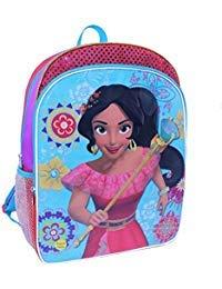 Disney Princess Elena of Avalor 16 inch Backpack with Side Mesh Pockets -