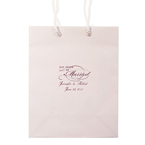 Amazon.com: Personalized Wedding Welcome Bag, Out of Town Guest Bag ...