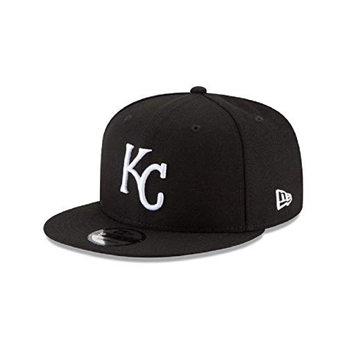 New Era Kansas City Royals MLB Basic Snapback Black White 950 Adjustable Cap -