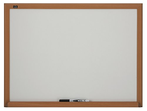 Quartet Dry Erase Board, 17 x 23 Inches, Oak Frame (75212B)