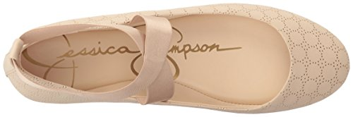 best seller pay with visa cheap online Jessica Simpson Women's Mandayss Ballet Flat Vanilla Cream wholesale price online discount release dates 7W280glG