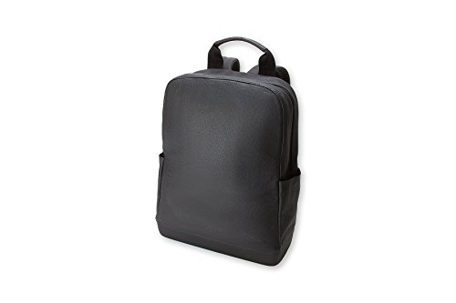 Moleskine Classic Leather Backpack, Black by Moleskine