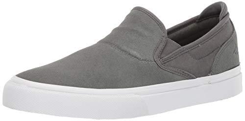 (Emerica Men's Wino G6 Slip-ON Skate Shoe, Grey, 13 Medium US)