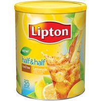 Lipton Iced Tea Half & Half Mix, Sweetened, 48.67 oz