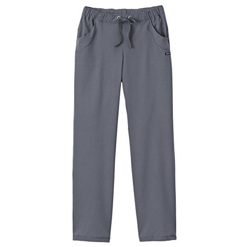 (Jockey Women's 2369 Grommet Appeal 4 Pocket Pant- Pewter- Medium Petite)