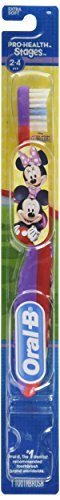 Oral Stage Toothbrush Minnie Mickey