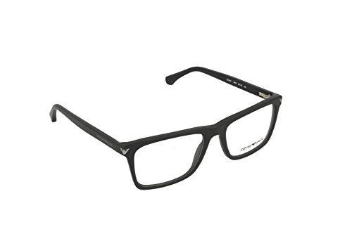 Armani EA3071 Eyeglass Frames 5042-55 - Matte Black - Price Emporio Armani Glasses