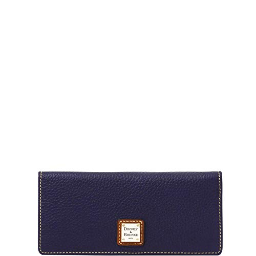 Dooney & Bourke Slim Wallet - Dooney & Bourke Pebble Leather Slim Snap C. Card Wallet Clutch ZR035 MD …