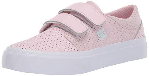 DC Girls' Trase V SE Sneaker, Pink, 2 M M US Little Kid ()