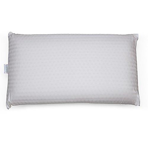 Fashion Bed Group Sleep Plush + Firm Density Latex Foam Pillow, Standard / Queen -