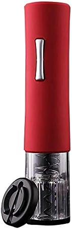 Cavatappi Apribottiglie Sacacorchos Sacacorchos Vinopráctico Abrebotellas Automático Abrebotellas Eléctrico Protección Ambiental Del Hogar Abs Vino Tinto En La Botella De Vino De La Quinta Batería-Ro