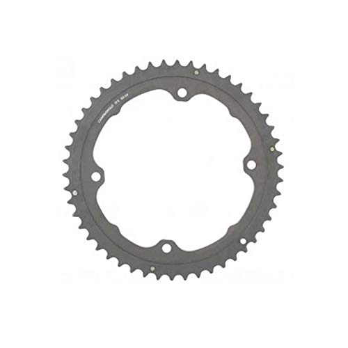 Image of Campagnolo, H11, Chainring, Teeth: 50, Speed: 11, BCD: 145, Bolts: 4, Outer, Aluminum, Grey, FC-H11050