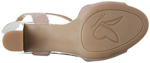 Caprice comb 28305 Pink Women's Heels Sandals Wedge Rose Su 8aZ8gqnr