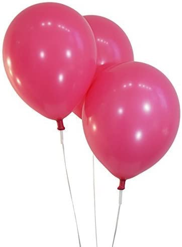 "Balloon Latex 100 pcs 12/""-30cm Fuschia"