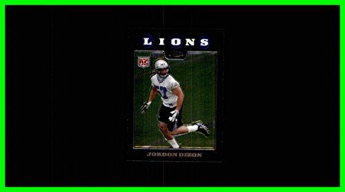 2008 Buffalo (2008 Topps Chrome #TC257 Jordon Dizon RC rookie DETROIT LIONS COLORADO BUFFALOES)