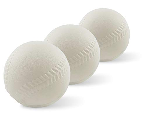Foam Replacement Baseballs - for Fisher-Price Triple Hit Pitching Machine – 3 Pack