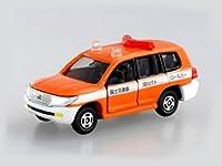 ランドクルーザー 河川パトロールカー仕様(オレンジ×ホワイト) 「トイズドリームプロジェクト はたらくトミカコレクション2」の商品画像