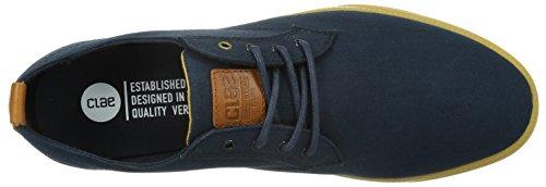 outlet official site cheap sale supply Clae Ellington Trainers Blue Deep Navy Canvas Gum YAoT6X5