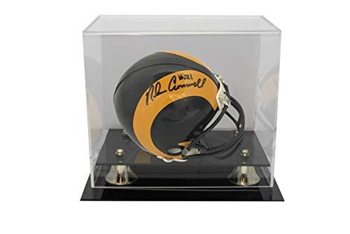 Nolan Cromwell Autographed Signed Los Angeles Rams Riddell Mini Helmet JSA