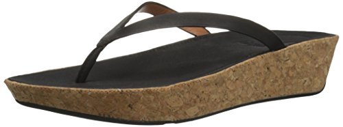 Thong Women's fitflop Linny Black Leather Sandals Toe vxFRUwqtS