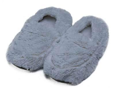Amazon.com: GRAY WARMIES - Zapatillas de peluche: Home & Kitchen