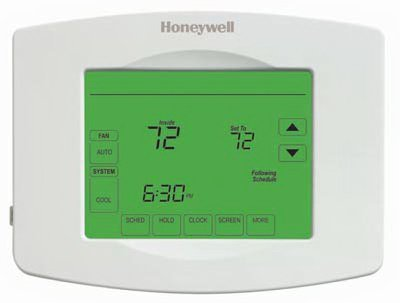 Honeywell Home/Bldg Center RTH8580WF1007 Wi-Fi Thermostat With Touch-Screen, 4-Program