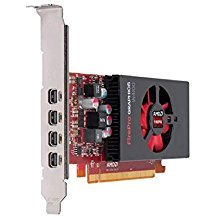 Mini Video Quad (Sapphire AMD FirePro W4100 2GB GDDR5 Quad Mini DP PCI-Express Graphics Card 100-505817)
