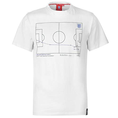 - Abercrombie & Fitch FA England Geoff Hurst 1966 Goal Vs Germany T-Shirt Mens White Football Soccer X-Large