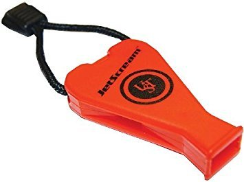 Ultimate Survival Technologies JetScream Whistle - Orange - 2 Count