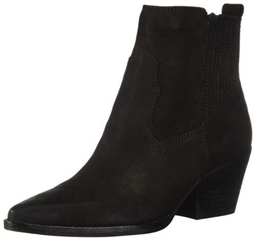 Dolce Vita Women's SUVI Ankle Boot Black Nubuck 10 M US
